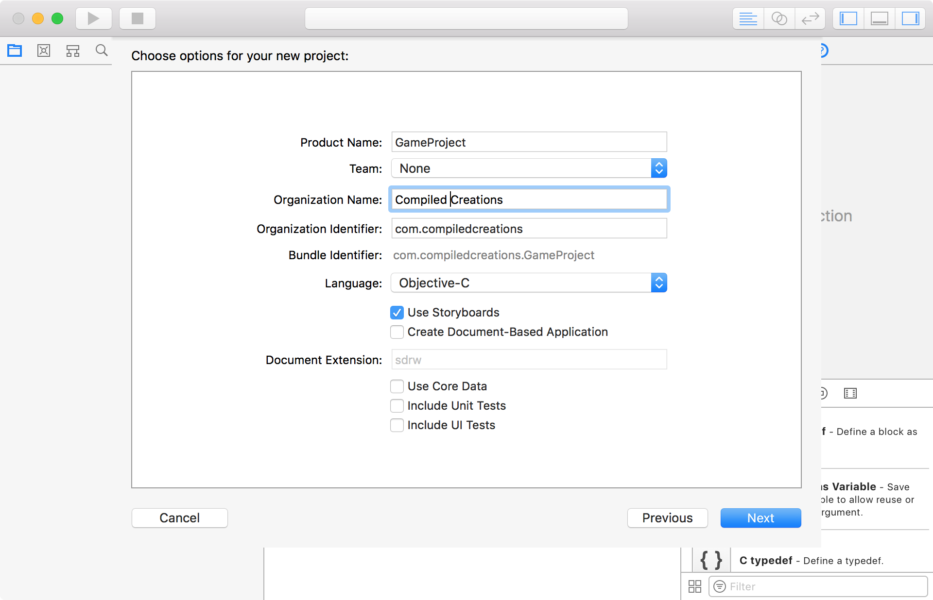 Setting Up An SDL2 Project In Xcode 9 – Matthew Styles